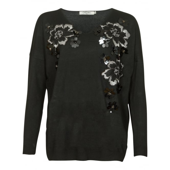 Christina Sofia flower jumper