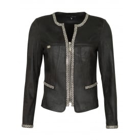 Girl diamante jacket