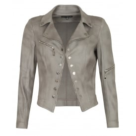 Power biker jacket