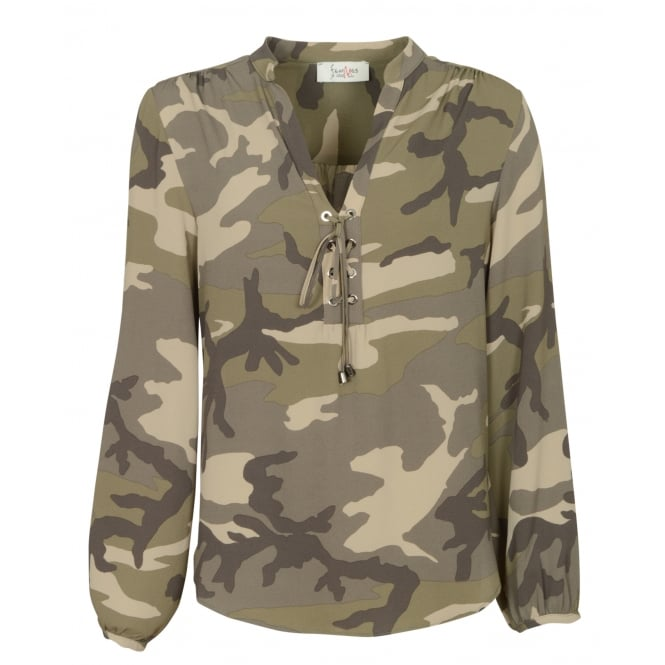 FemMes Betty camouflage shirt