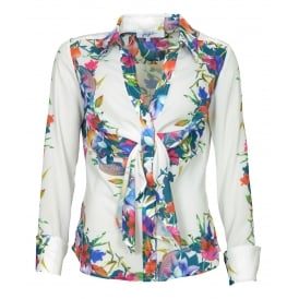 Clementine floral shirt