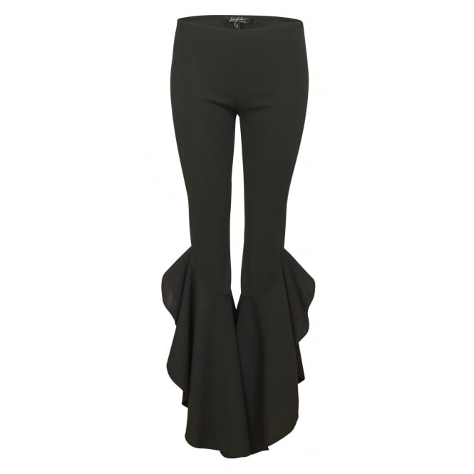 Jeff Gallano Pamela flared trouser