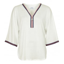 Tennis stripe top