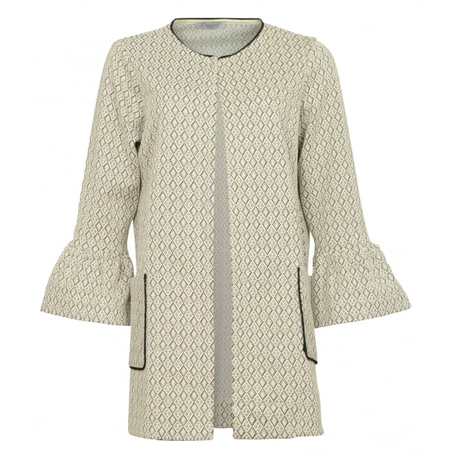 Malini Daddy diamond print jacket