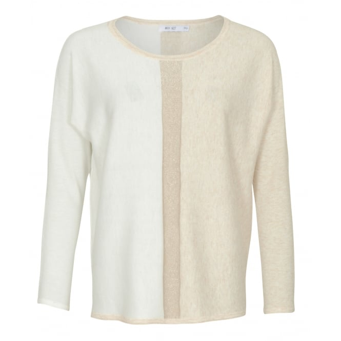 Malini Jennifer colourblock jumper