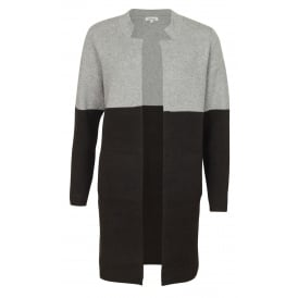 Karen colour block cardigan