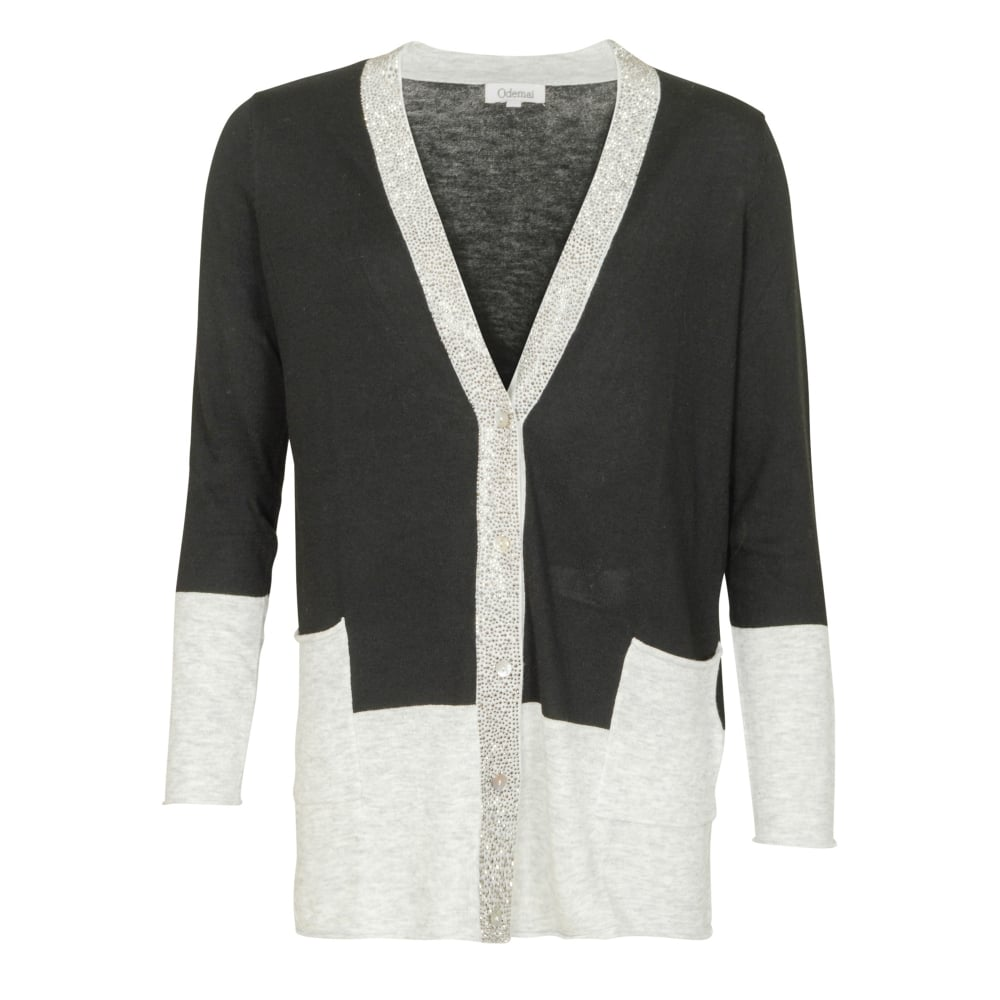 OdeMai Alison sequin cardigan - Departments from Malini UK