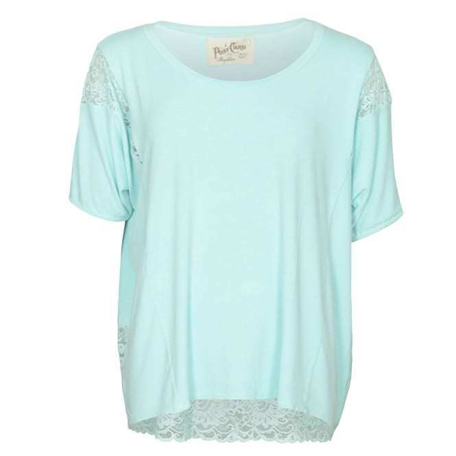 Postcard from Brighton Eve lace top