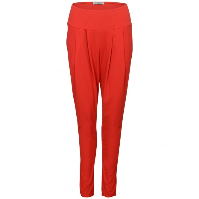 Quinze heures Trente Bandol pleat front plain trousers