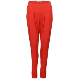 Bandol pleat front plain trousers