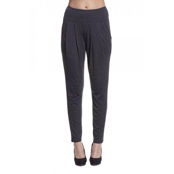 Quinze heures Trente Plain pleat front trousers - Grey