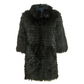 Brooke raccoon coat