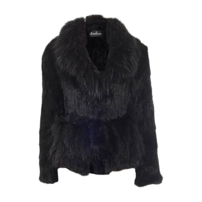 Sensation folie short fur jacket black departments from malini uk - Folie fur holzmobel ...