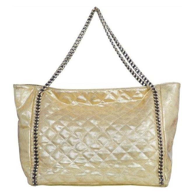 Vimoda Metallic Quilted Chain Bag Departments From Malini Uk