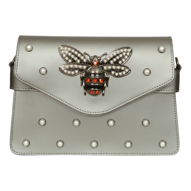 Vimoda Olivia dragonfly leather bag